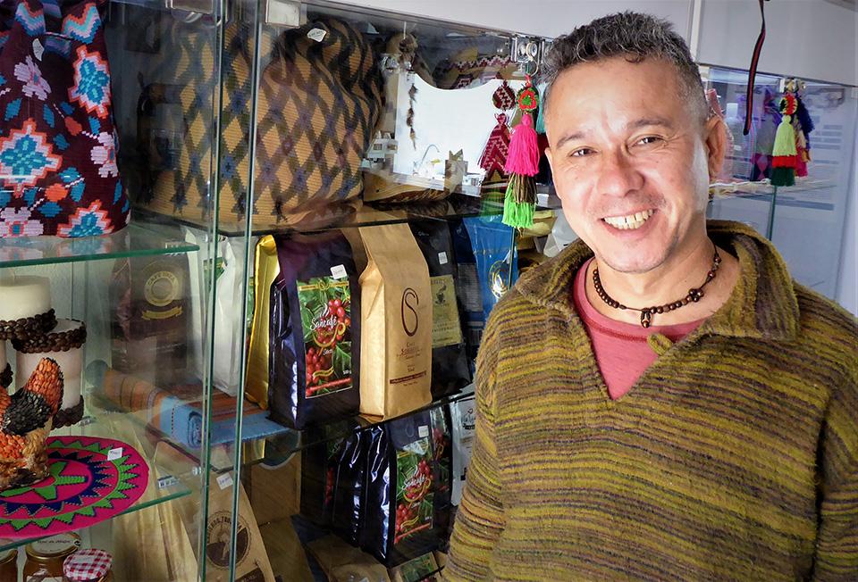 César Jerez, owner of Café Pushkin