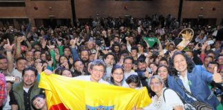 Claudia Lopez Mayor Bogota
