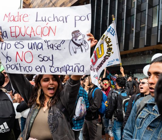 Bogota Student Protests