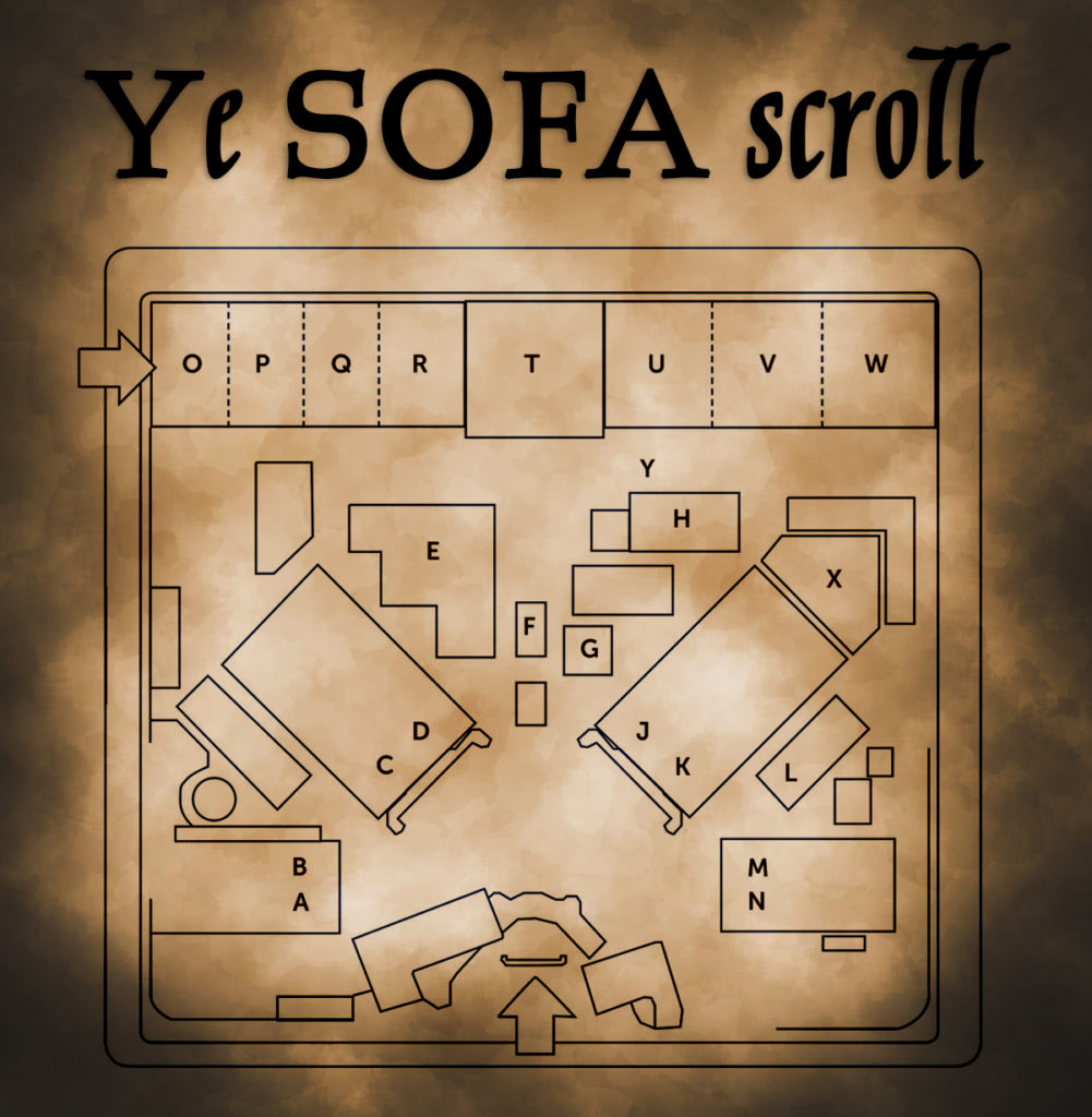 This year's SOFA layout