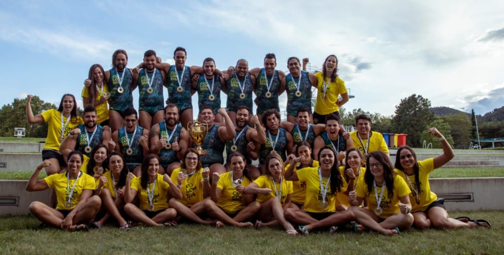 A gold medal for the men and a bronze medal for the women was the impressive outcome of the World Championship Underwater rugby in Graz, Austria this year.