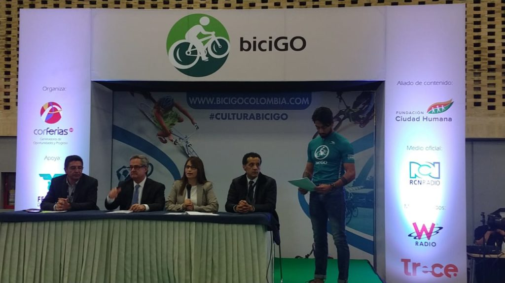 The BiciGO bicycle fair takes place in Corferias until November 11.