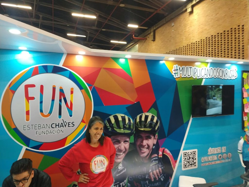 Esteban Chaves foundation FUN aims to help children in poor neighbourhoods through cycling.