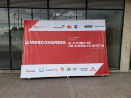 Opening Sign from Web Congress