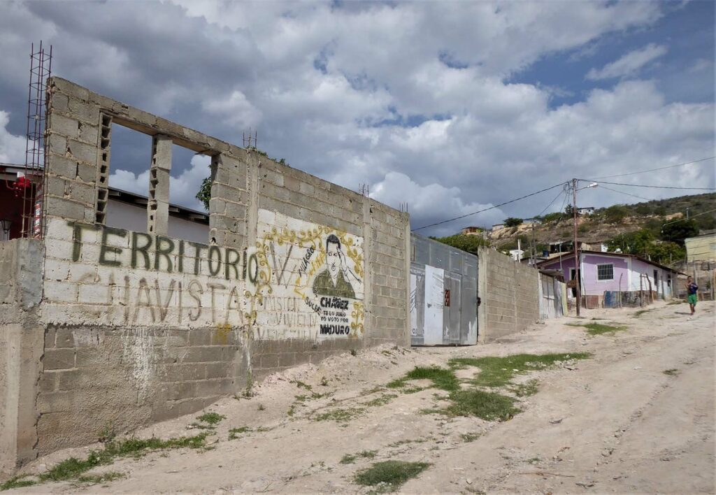 Chávez supporters still rule poor barrios in Venezuela, though often through the force of armed gangs.