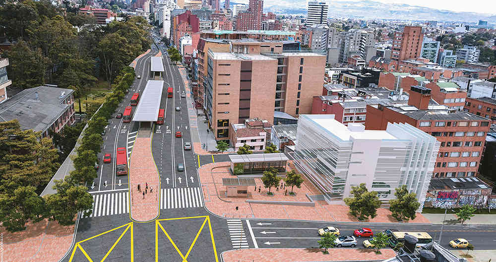 A recent survey found that only 30% of Bogotá residents support a TransMilenio on Séptima.