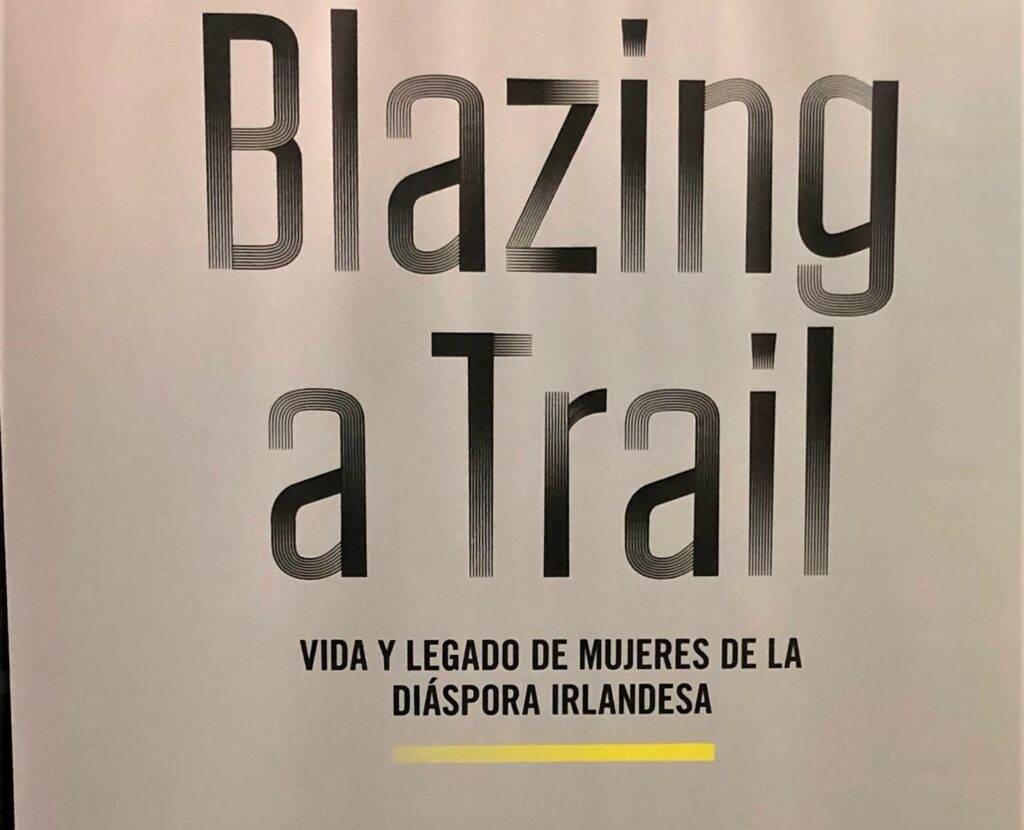 Mary Costello's Blazing a Trail: Irish women who changed the world is on display at UNAL's Edificio Uriel Guttiérez until February 18.