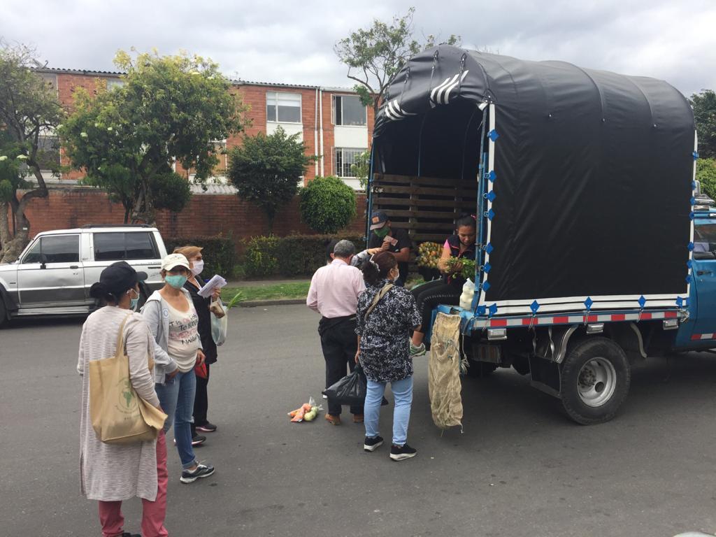 Bogotá quarantine in Engativá