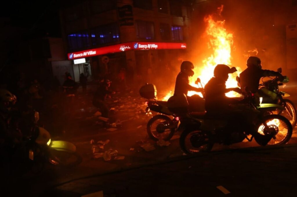 7 deaths reported after a night of violent protests against police brutality.