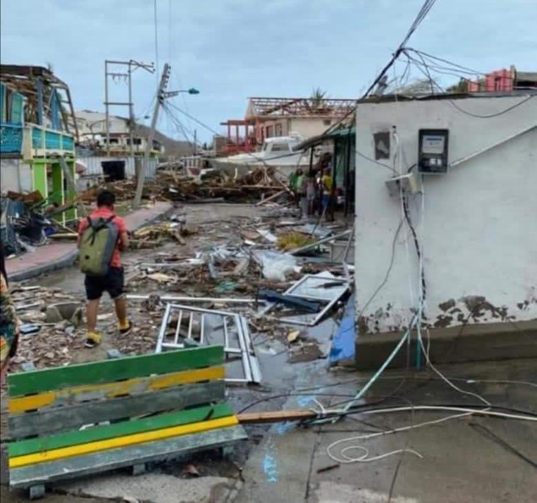 Providencia and San Andrés hard hit by Hurricane Iota