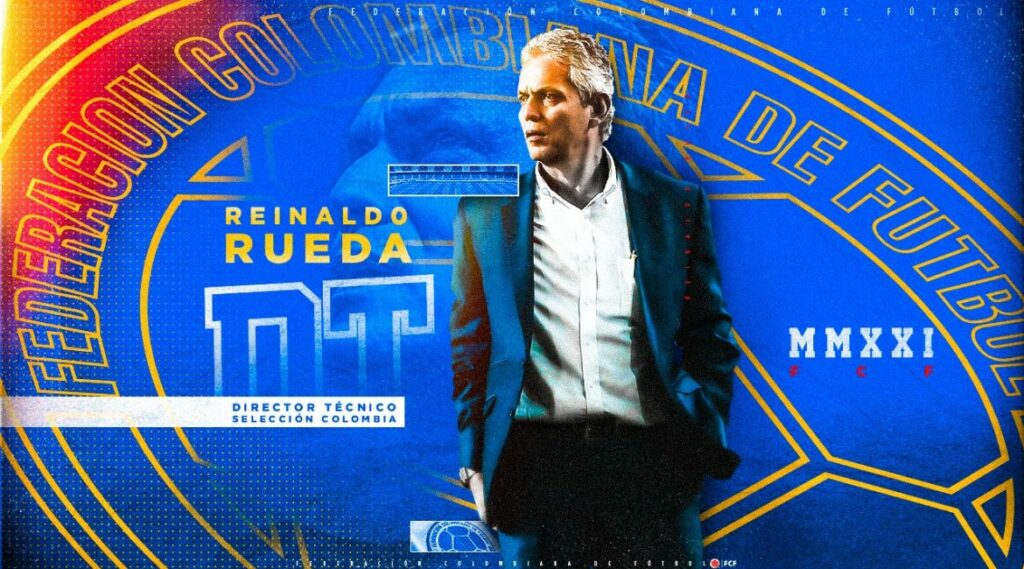 Reinaldo Rueda is appointed to take Colombia to Qatar.