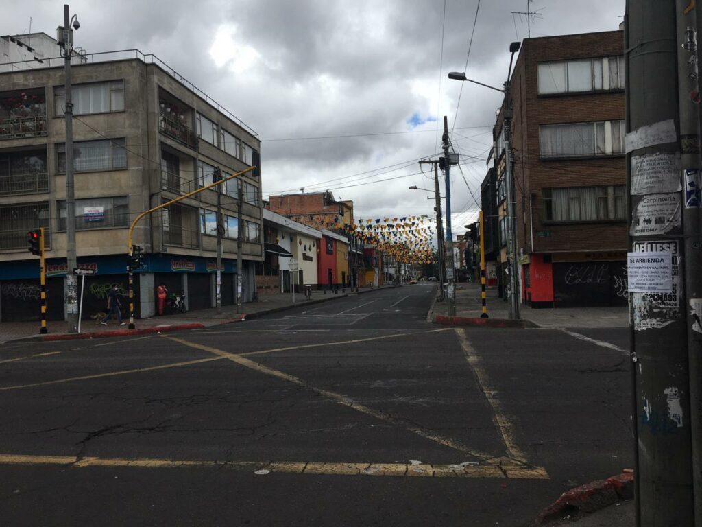 New lockdown rules in Bogotá.