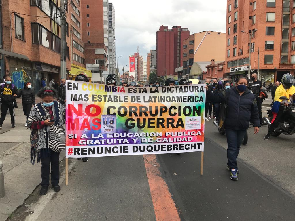 Colombia protests: thousands of protestors turned out on April 28